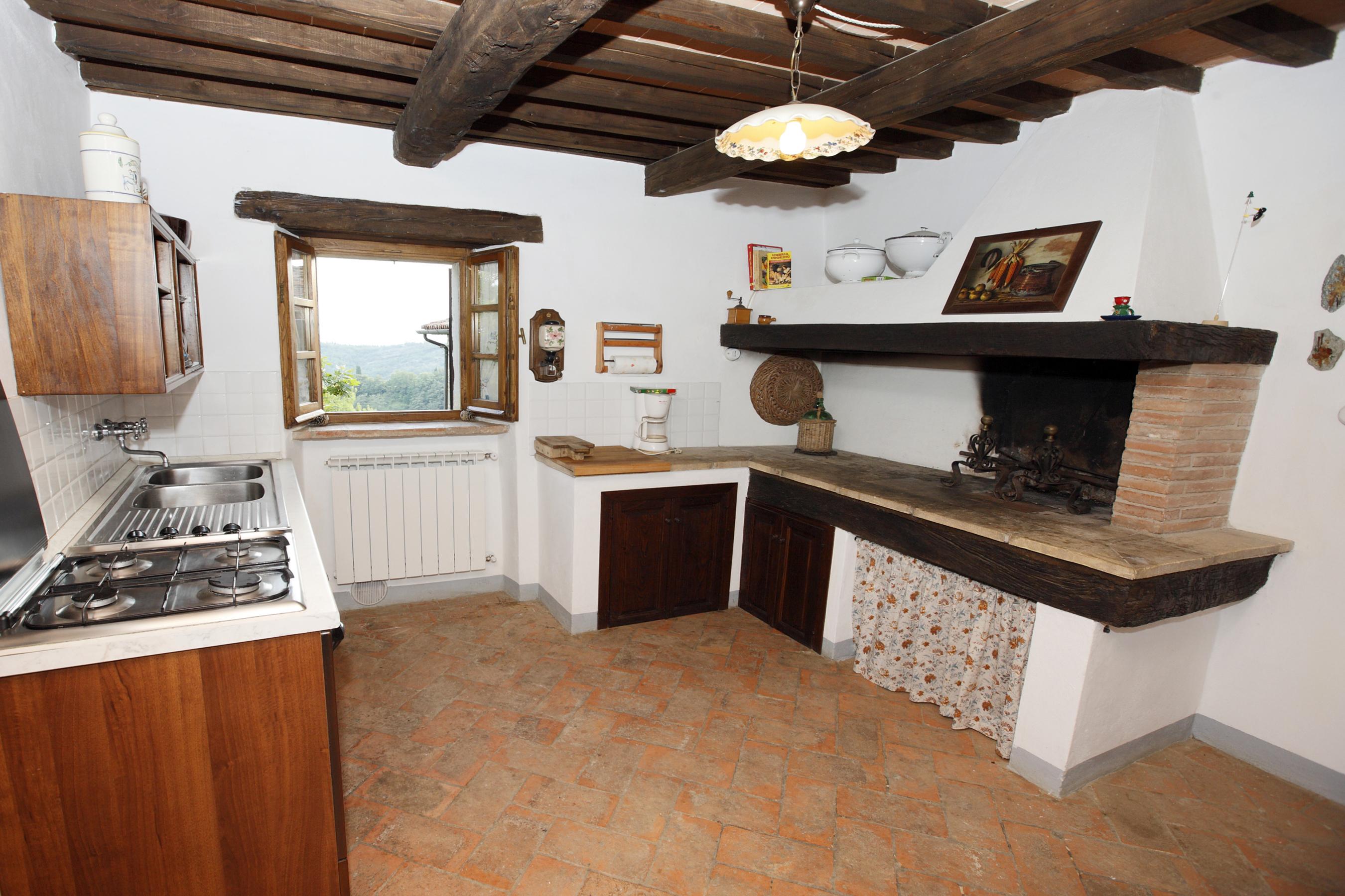 Agriturismo c p app uno - Open haard keuken photo ...